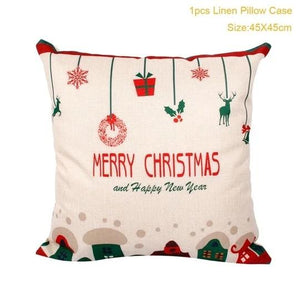 Christmas Pillow Case Covers