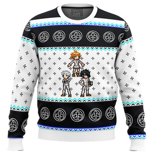 Promised Neverland Sprites Premium Ugly Christmas Sweater