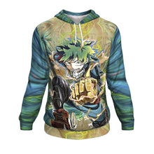 Load image into Gallery viewer, Raging Deku Hoodie