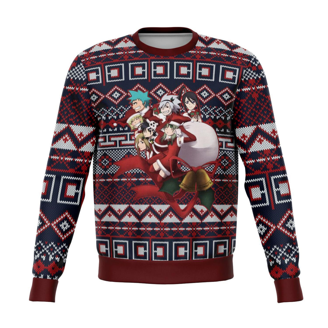 Soul Eater Premium Ugly Christmas Sweater