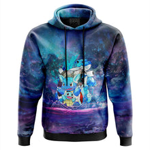 Load image into Gallery viewer, Squirtle Splash Pokemon Hoodie