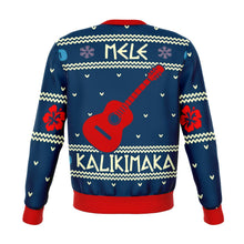 Load image into Gallery viewer, STITCH mele kalikimaka Premium Ugly Christmas Sweater