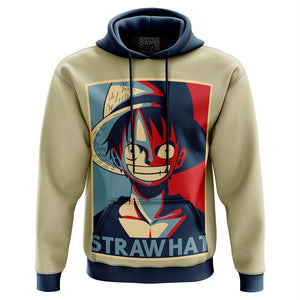 Straw Hat Hope One Piece Hoodie