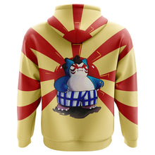 Load image into Gallery viewer, Sumo Snorlax Pokemon Hoodie