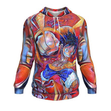Load image into Gallery viewer, Trippy One Piece Hoodie
