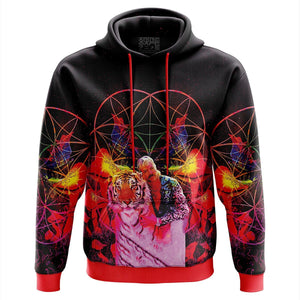 Vibing Joe Exotic Tiger King Hoodie