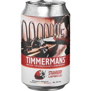 TIMMERMANS STRAWBERRY LAMBICUS CAN