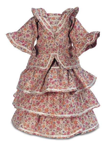 "Doll Clothing for 11"" to 15"" Height Lady Dolls"