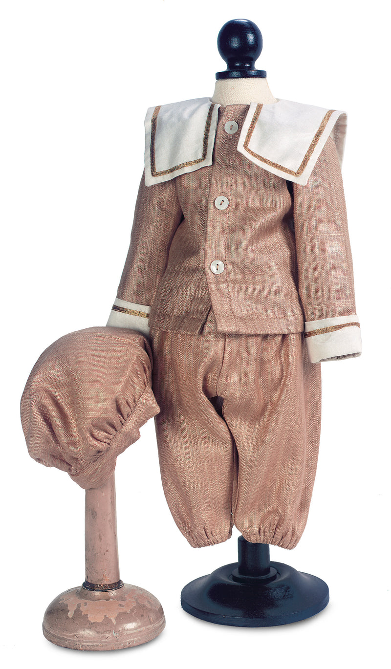 Boy's Three-Piece Silk Suit