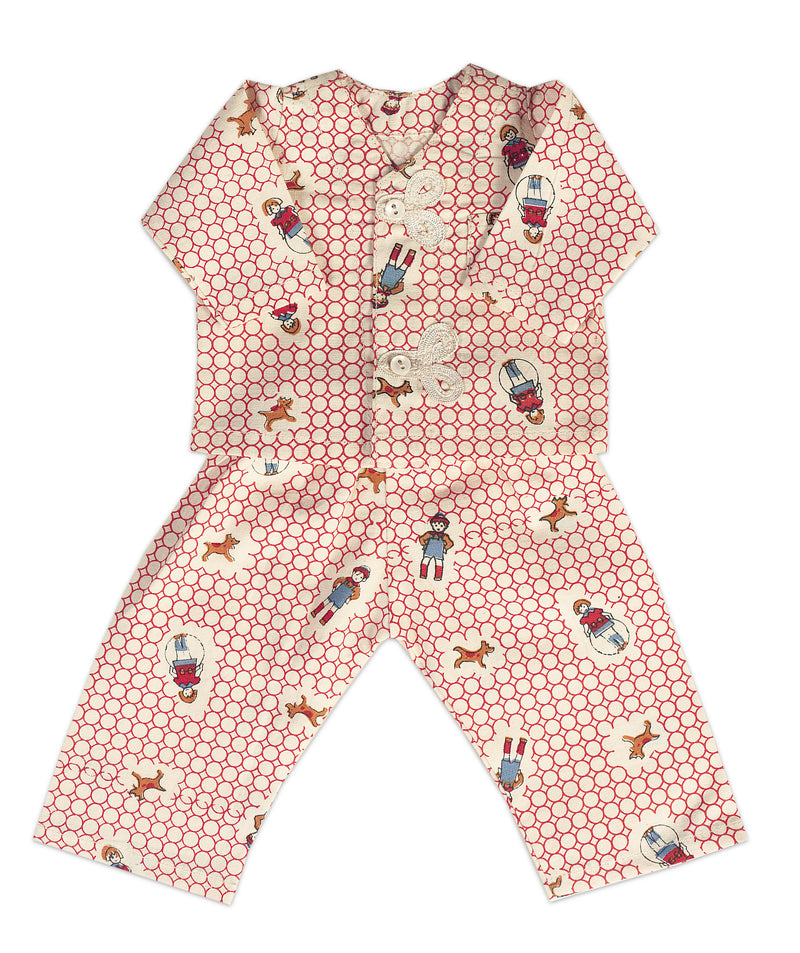 Doll Pajamas in Exclusive Fabric
