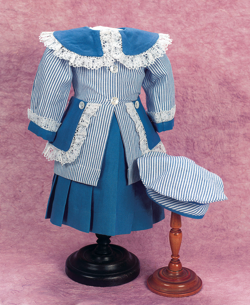 Blue & White Striped Sailor Ensemble