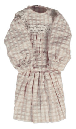 Pink & White Checkered School Dress