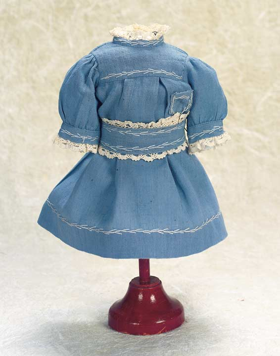 Blue Chambray School Dress