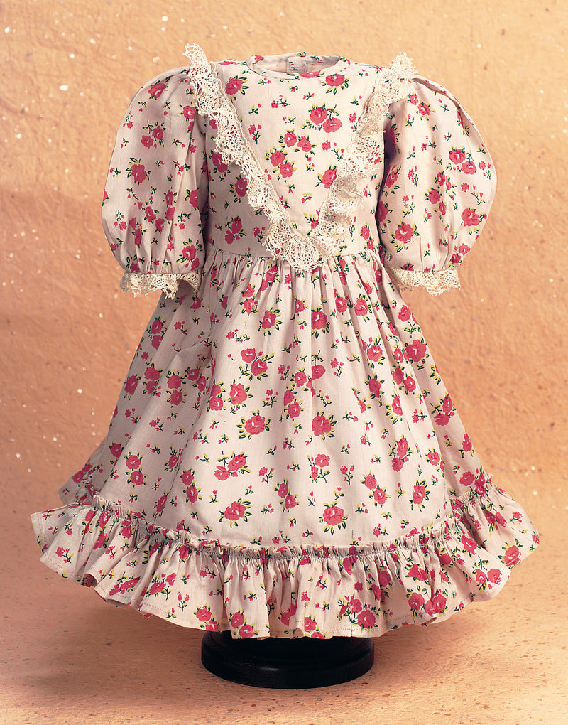 Gathering Rosebuds Cotton Dress