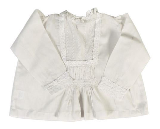 White Blouse With Embroderies