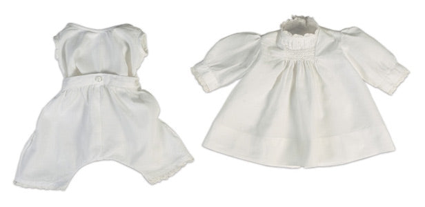 White Smock With Chemise and Pantalets