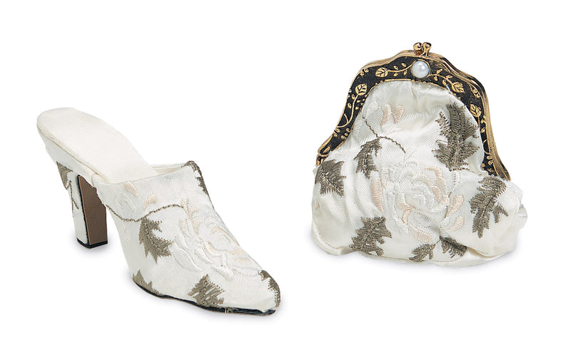 Victorian Decorative Shoe & Purse