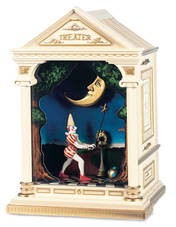 Pierrot Winding The Moon, Mechanical Musical Display