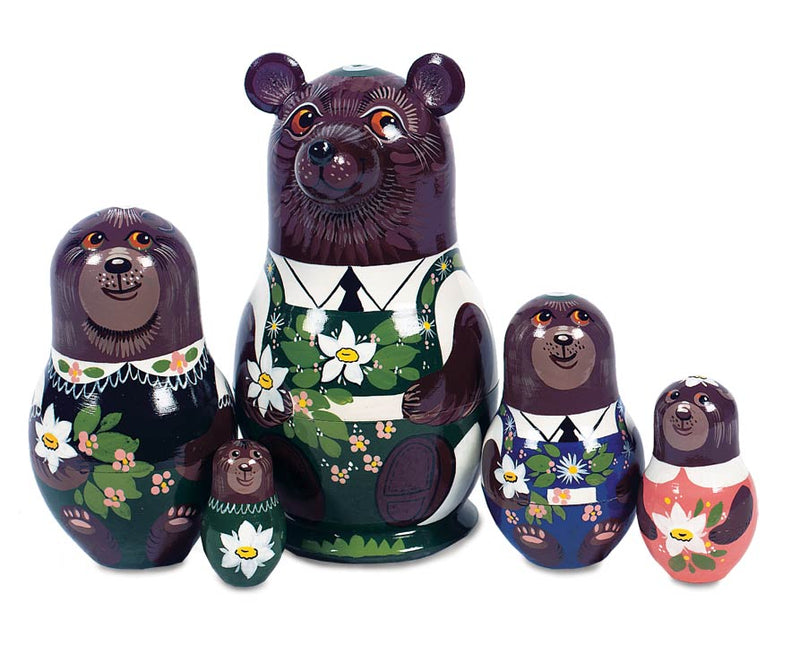 Masha And The Bear Nesting Dolls
