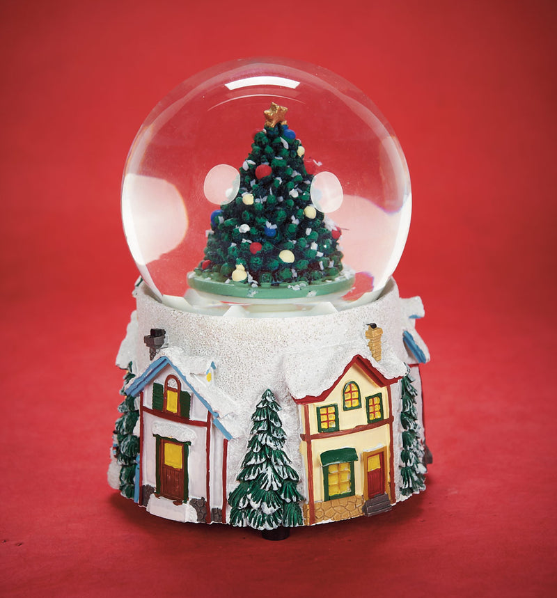 Musical Snomotion Snow Globe