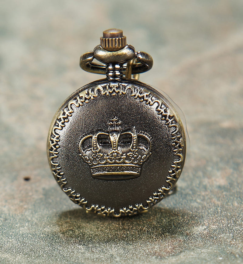Crown Necklace Watch