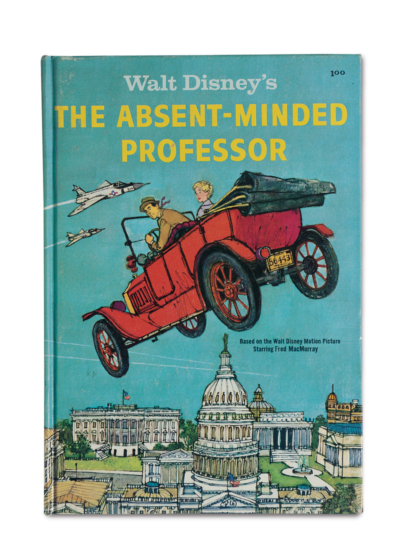 Old Store Stock, The Absent Minded Professor Book