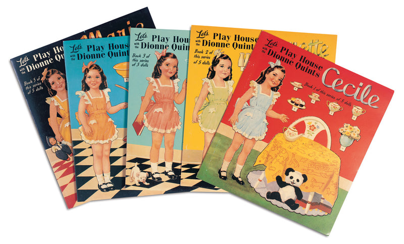 The Dionne Quintuplet Paper Doll Book Set