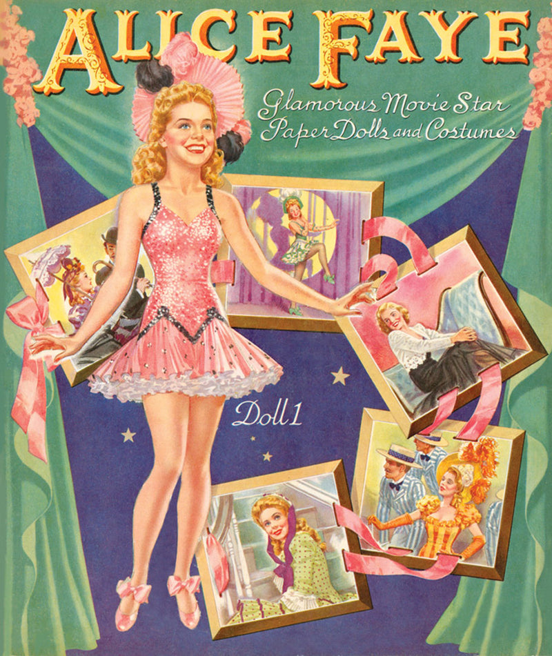 Alice Faye Paper Doll Book