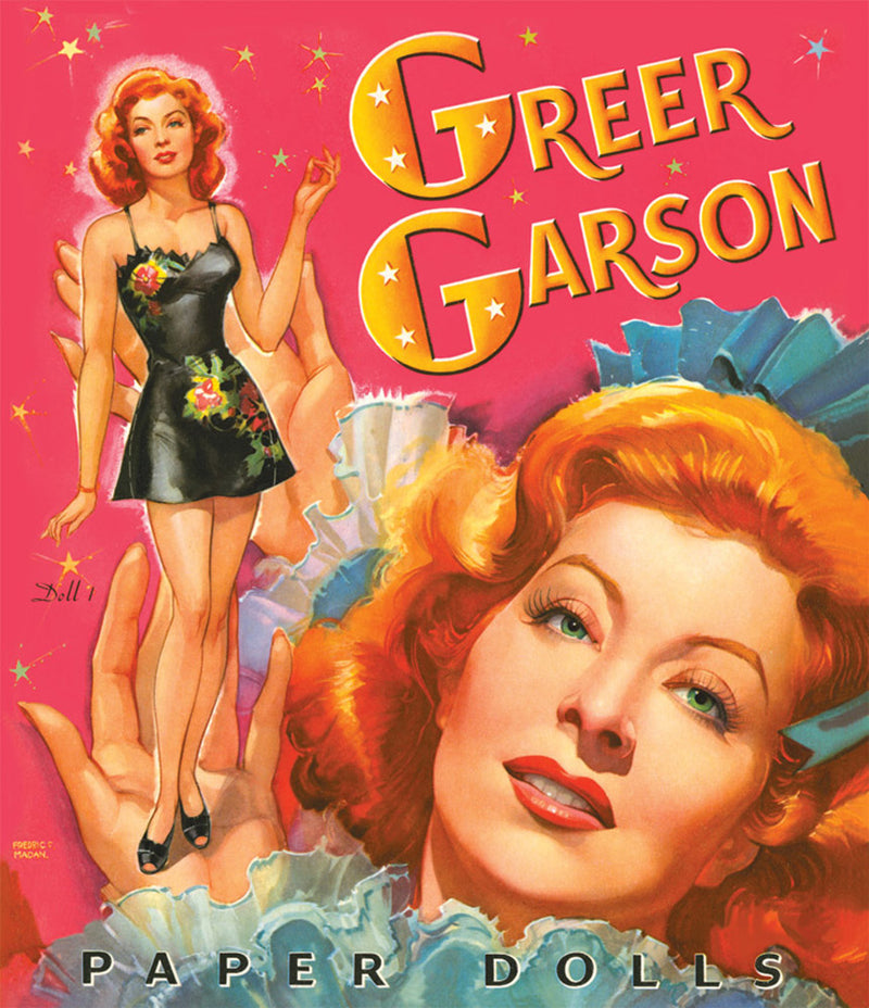 Greer Garson Paper Doll Book