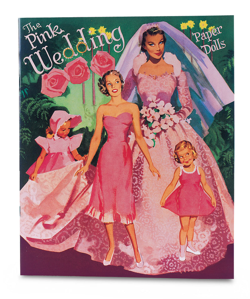 The Pink Wedding Paper Doll Book