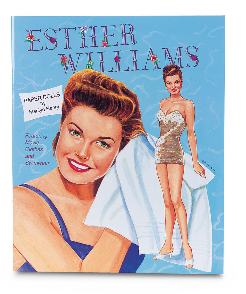 Ester Williams Paper Doll book