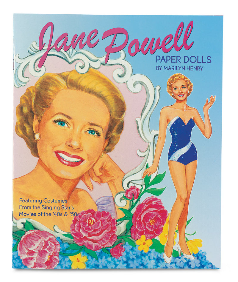 Jane Powell Paper Doll Book