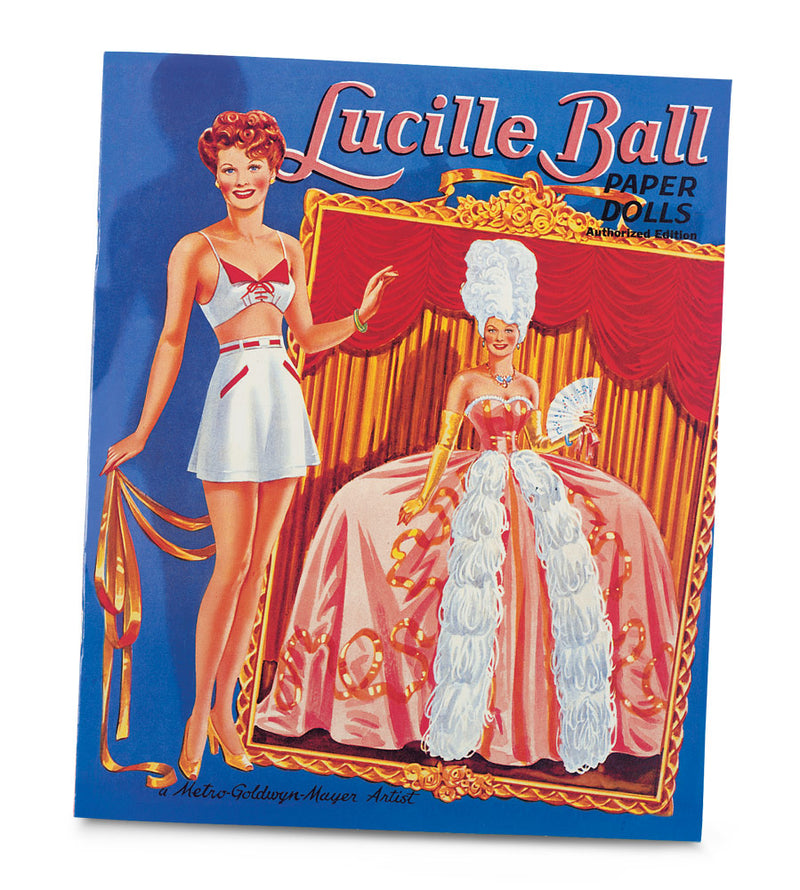 Lucille Ball Paper Doll Book
