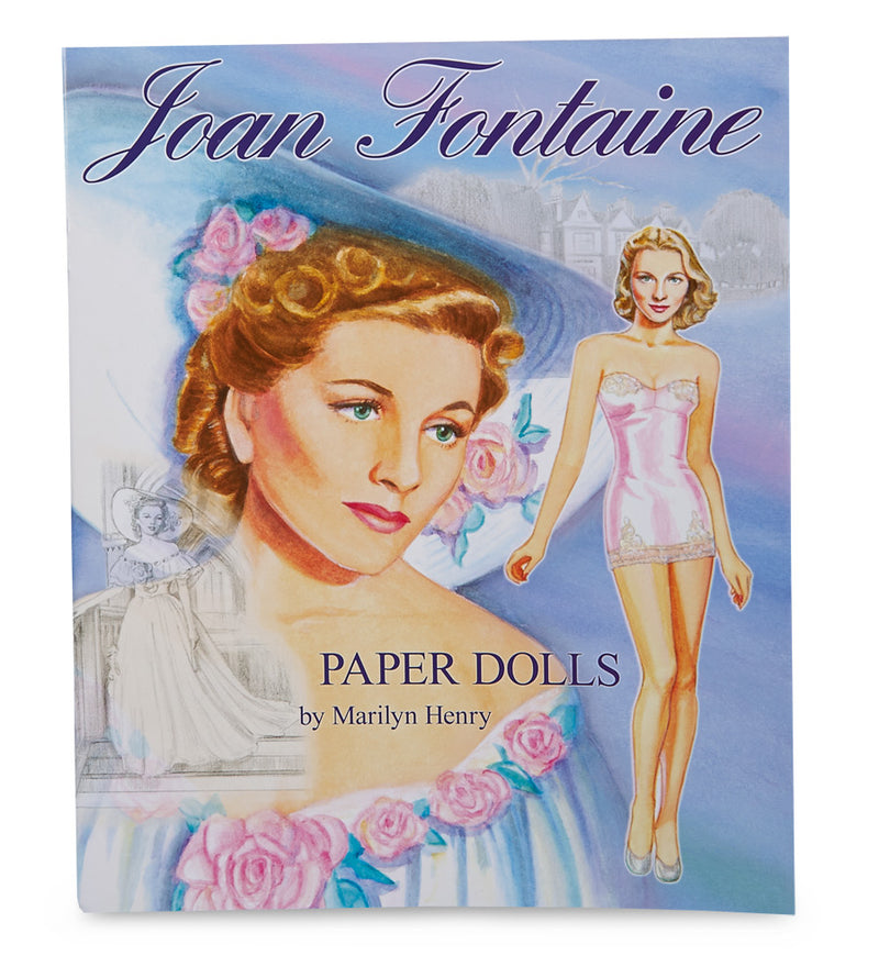 Joan Fontaine Paper Doll