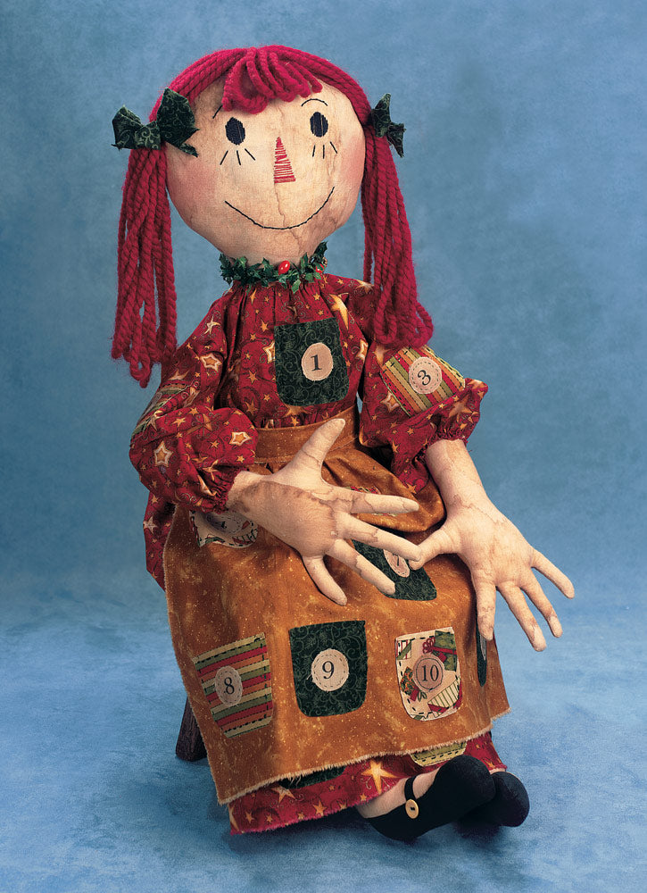 Noelle the Raggedy Advent Doll by Jessie Ross