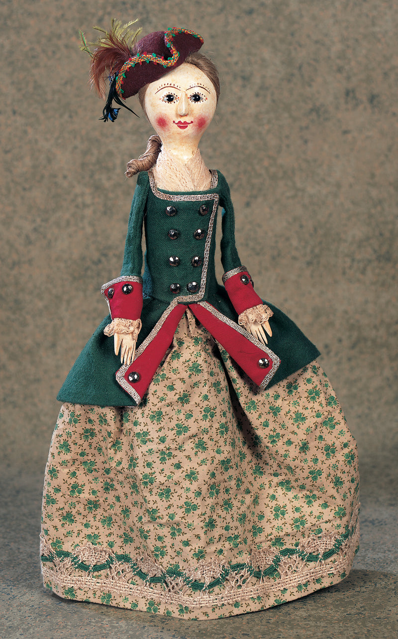 Lady in Riding Costume by Peter Wolf