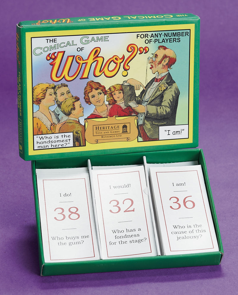 Who: The Classic Parlor Game