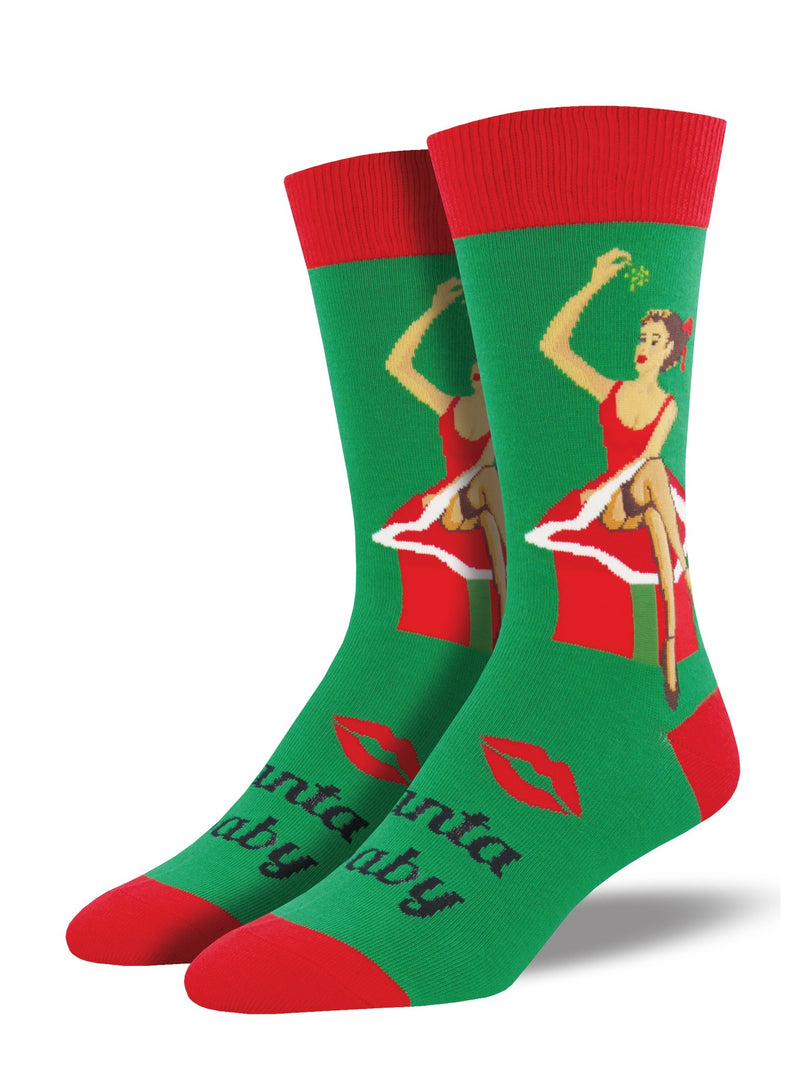 Santa Baby Men's Cotton Socks