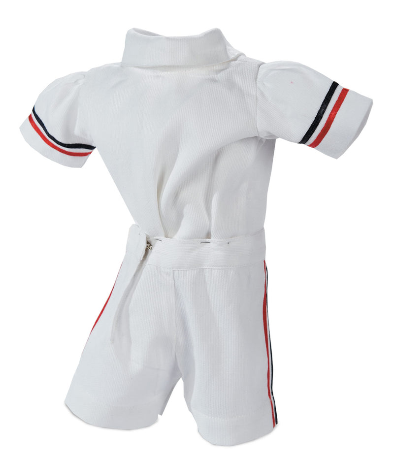 White Summer Three-Piece Boy's Ensemble