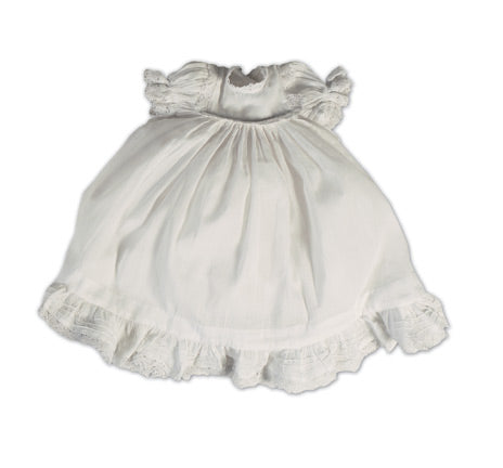 White Cotton Baby Gown