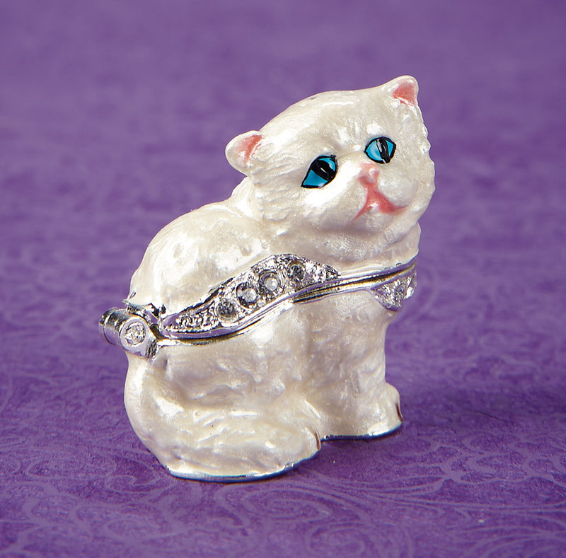 Persian Kitten Trinket Box