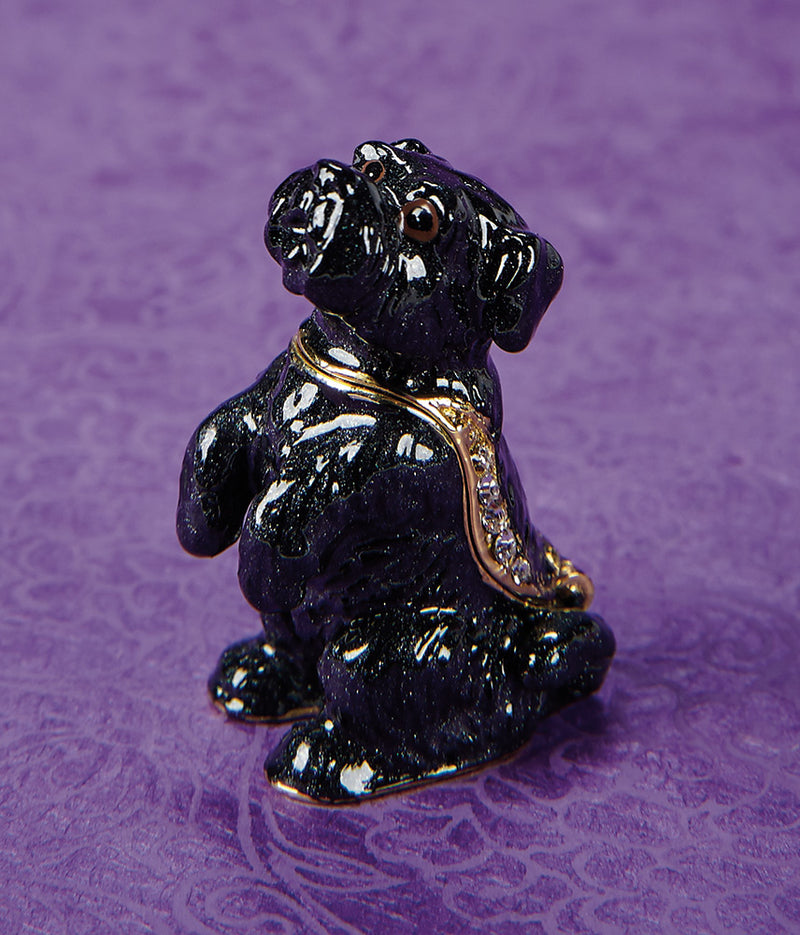 Corky Scottie Trinket Box