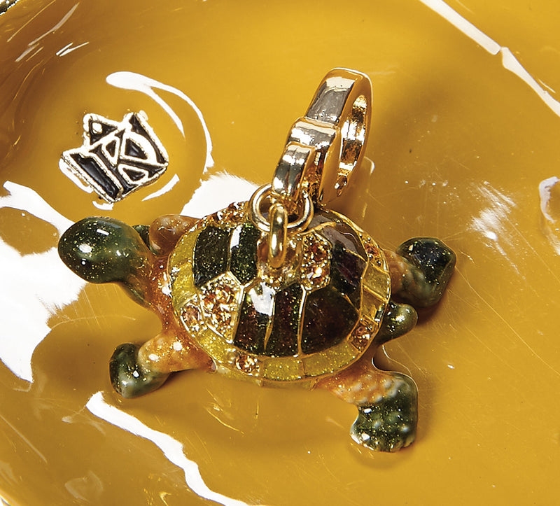 Turtle Family Trinket Box and Necklace