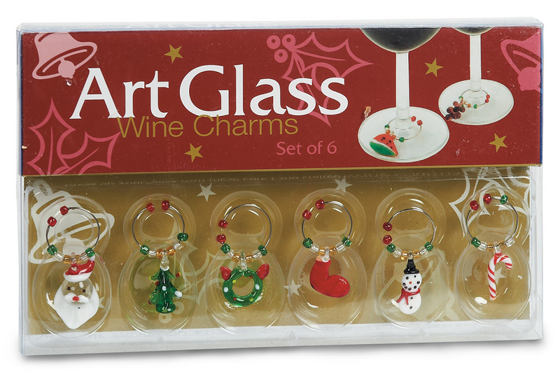 Christmas Wine Markers