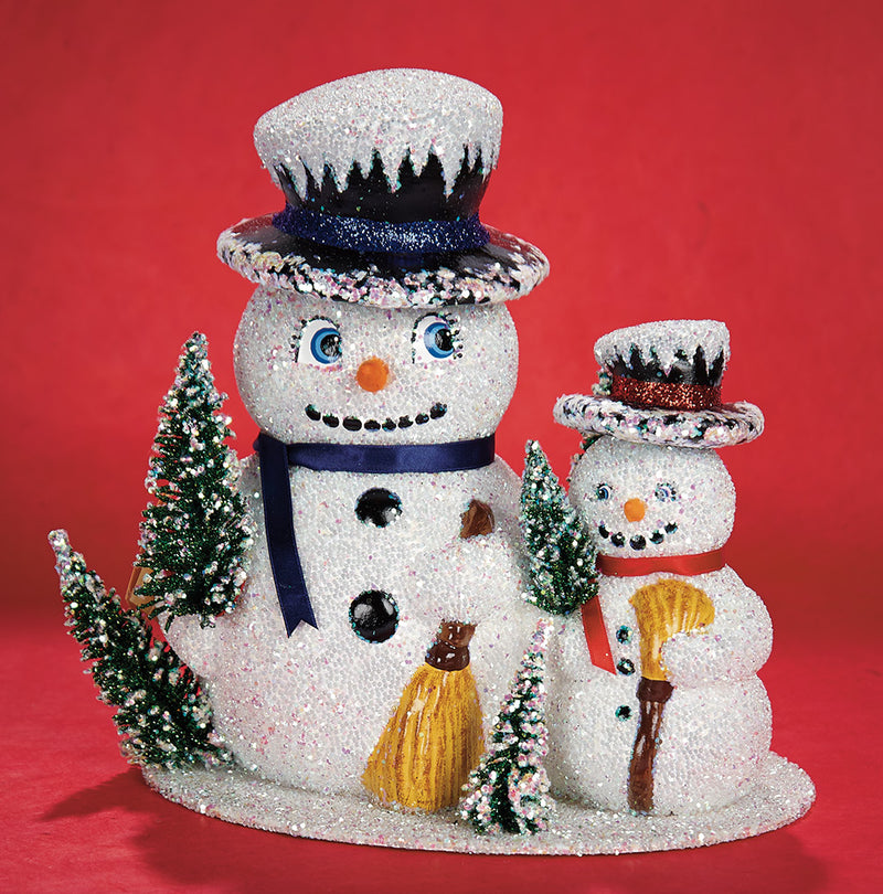SNOWMEN CANDY CONTAINER
