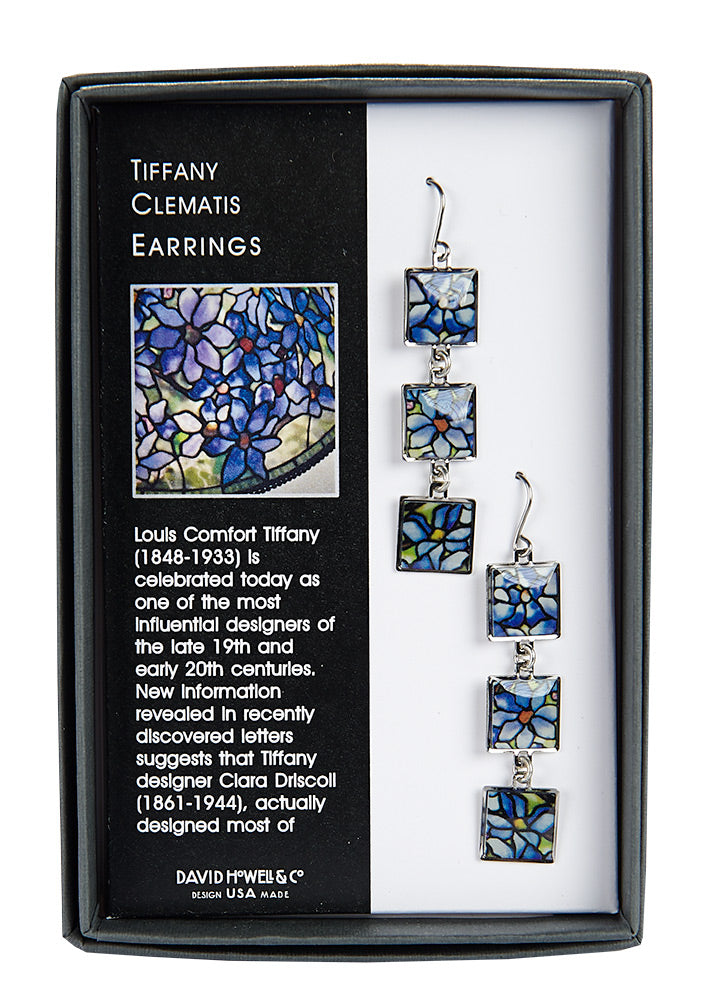 Tiffany Clematis Earrings