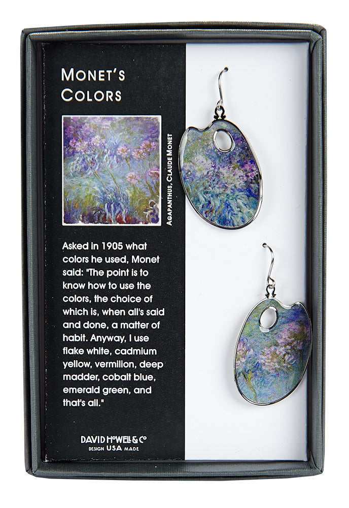 Monet's Colors Earrings