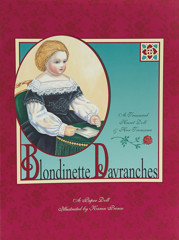 Blondinette Davranches A Paper Doll by Karen Prince