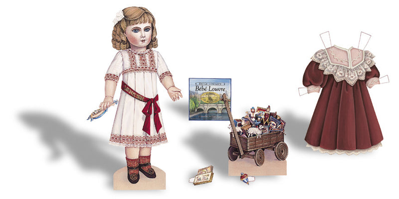 Bebe Louvre, A  Paper Doll