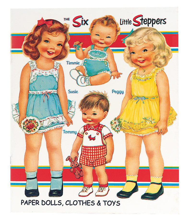 The Six Little Steppers Paper Dolls